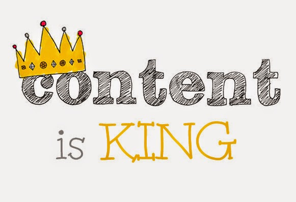 The first Golden Rule – Content is King
